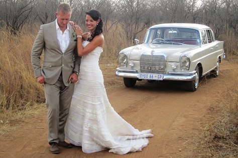 Stylish country wedding Hire-Classic-Cars