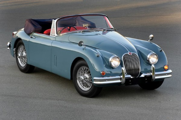 1960 XK150 drop head coupe Jaguar Hire Classic Car Image