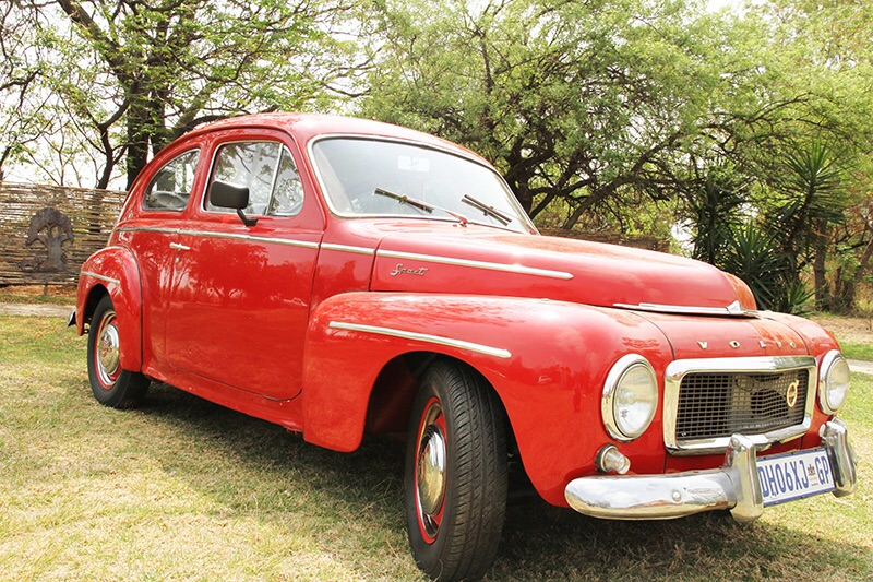"""Old Red"" 1956 Volvo"
